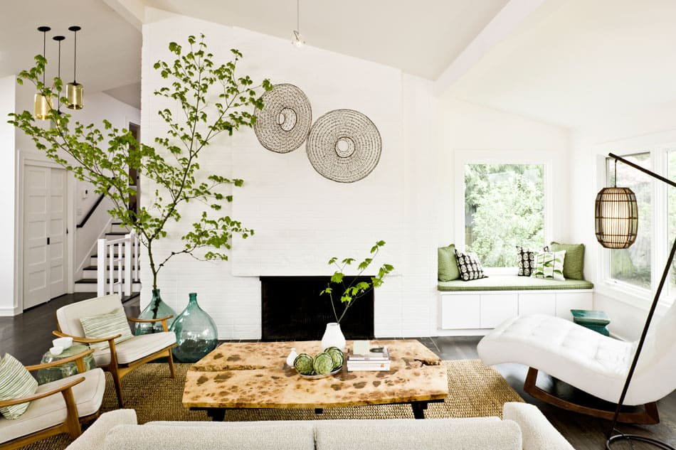 Modern makeover using contrast and colour