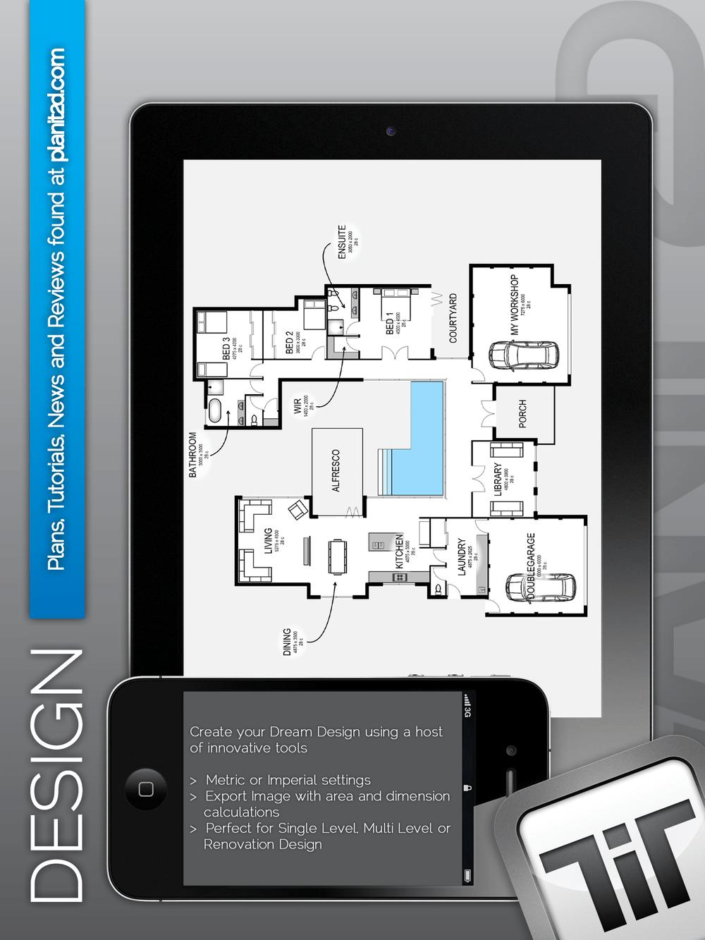 Great new home design app!