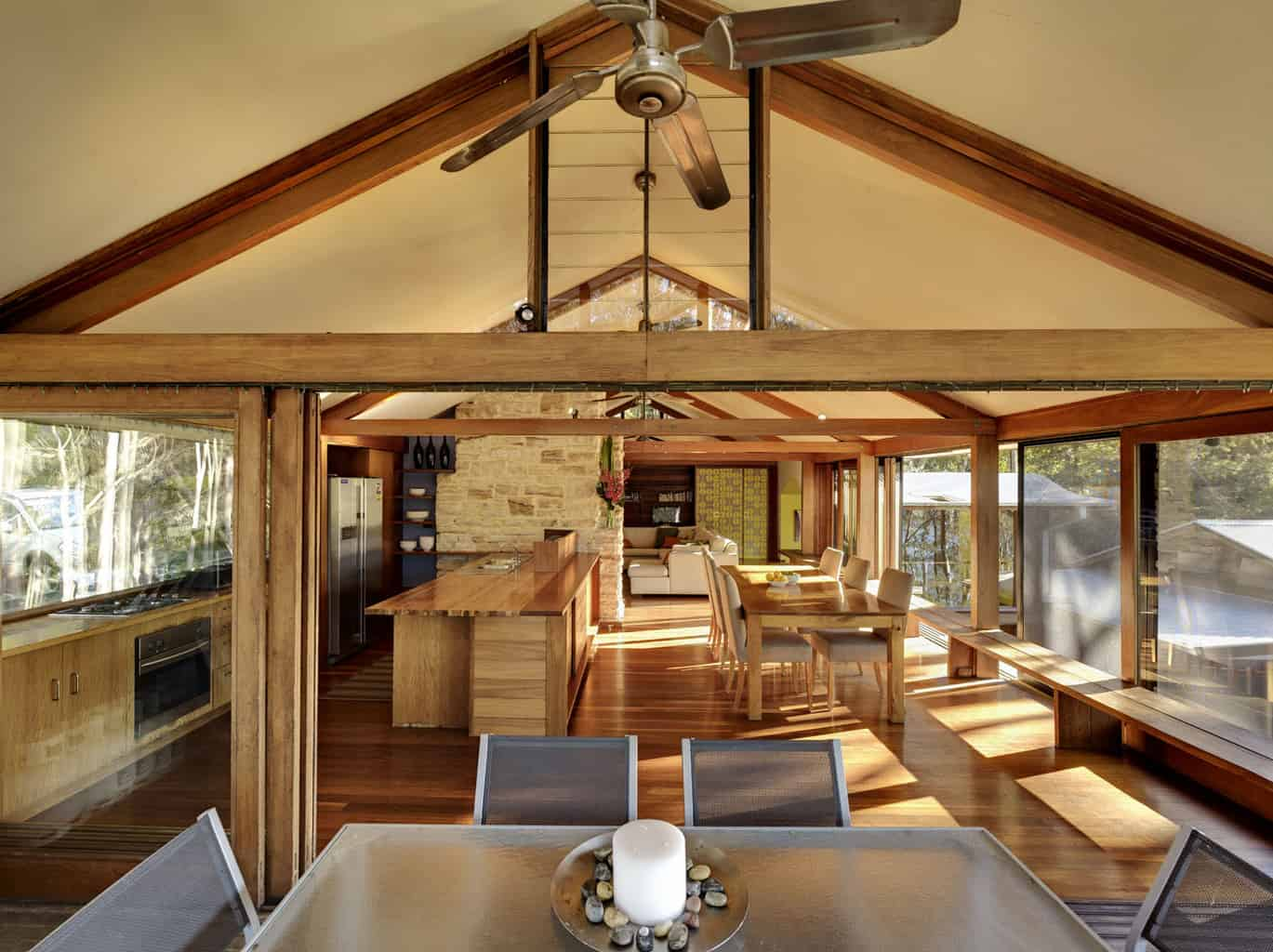 2 cottage point kitchen and dining