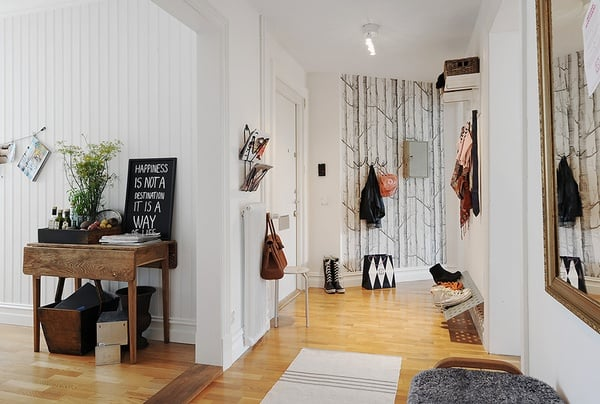 Design idea: wallpaper feature walls