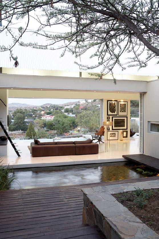 Pared back simplicity of style and materials in Namibia