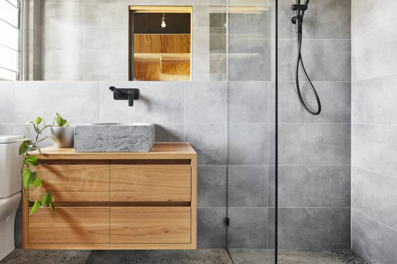 sustainable interior design water efficient taps and shower heads
