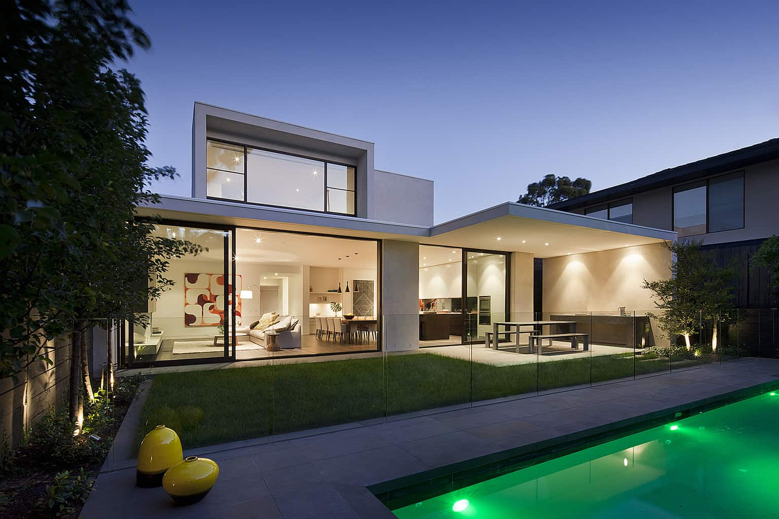 A warm, casual elegance for Melbourne home