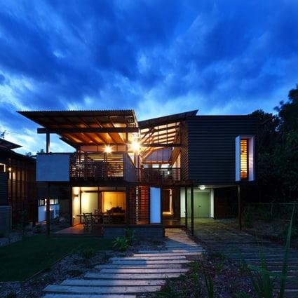 Small sustainable design on North Stradbroke Island