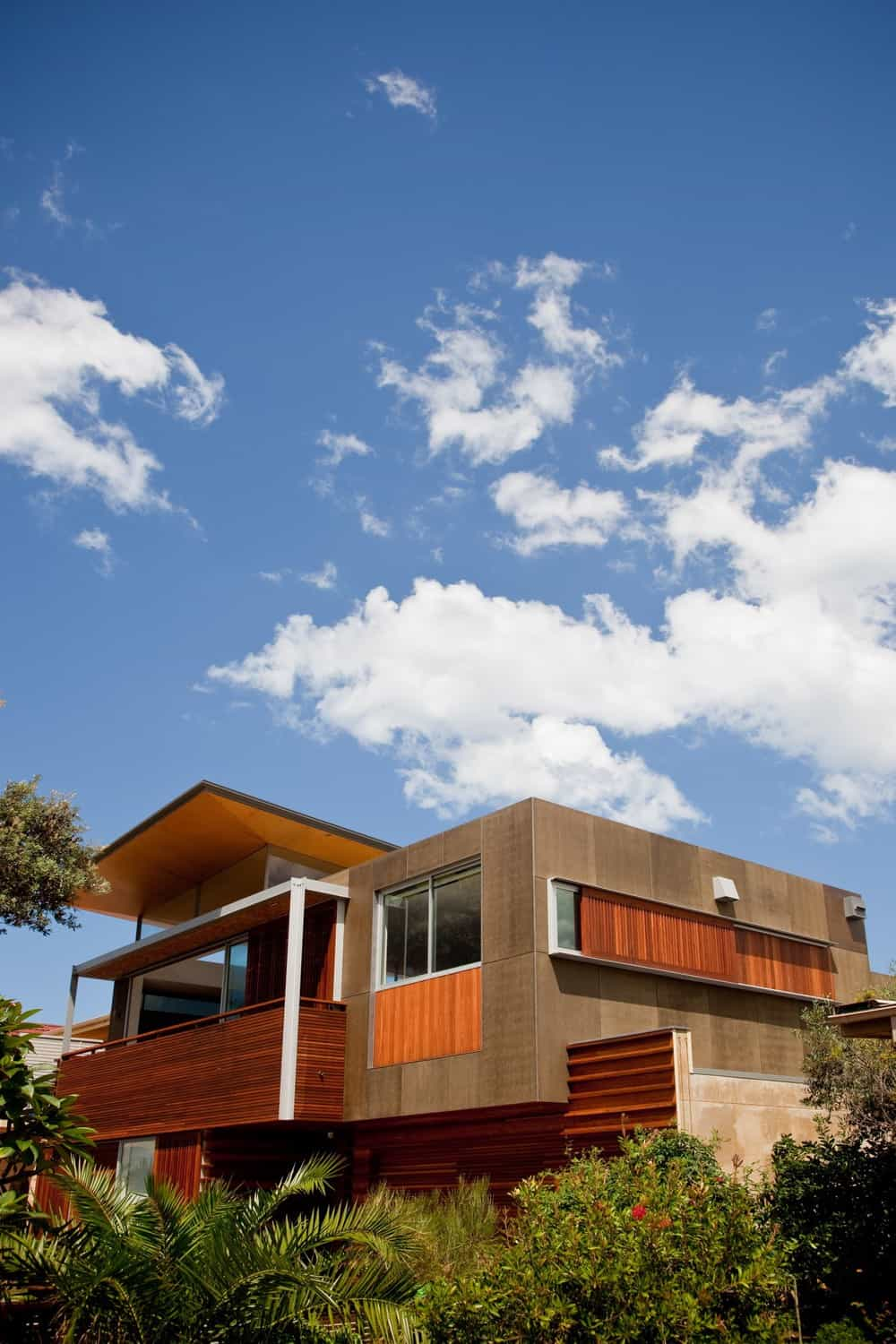 Front of house with modern asian design, modern asian architecture, Virginia Kerridge, White Rock