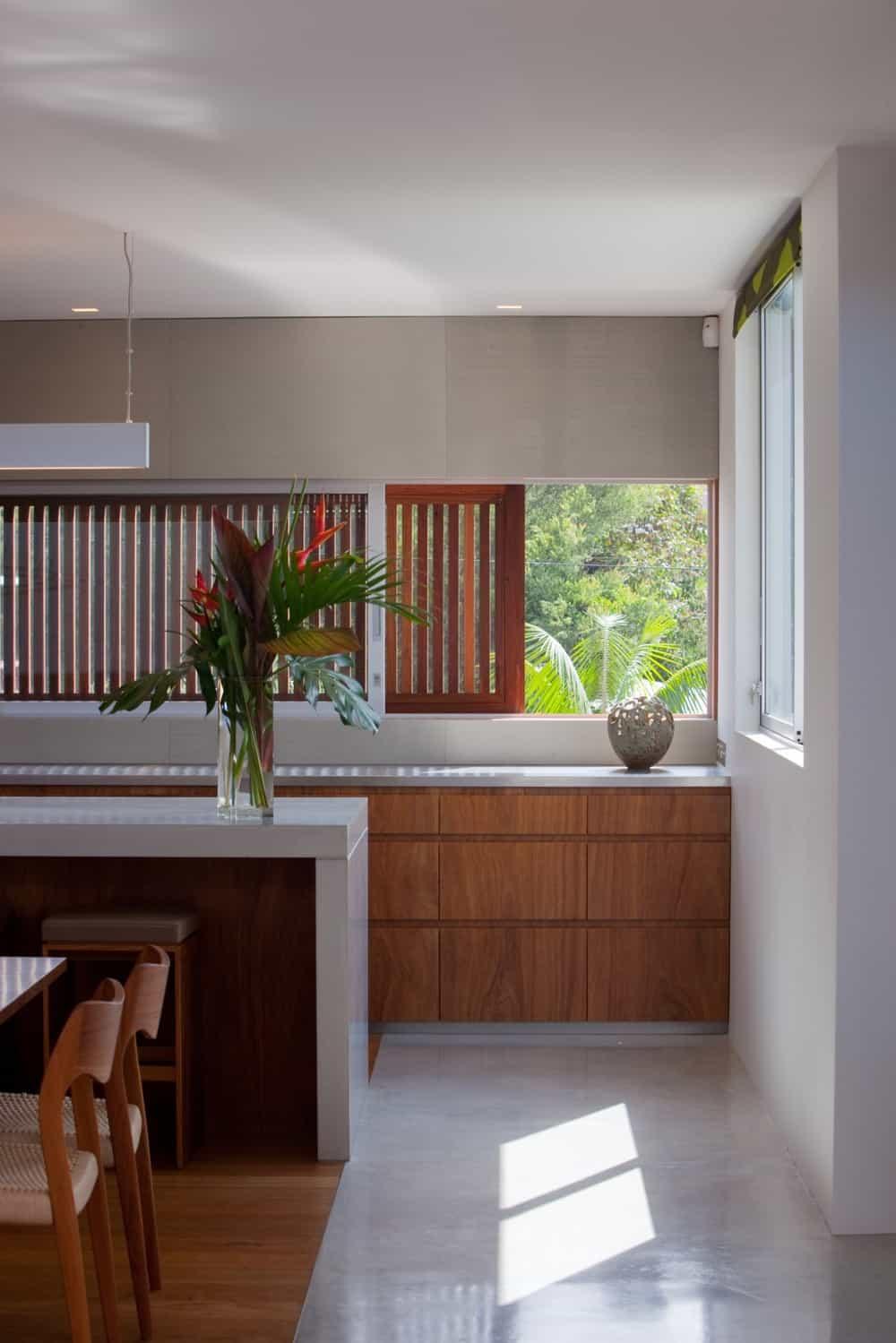 Kitchen with modern asian design, modern asian architecture, Virginia Kerridge, White Rock