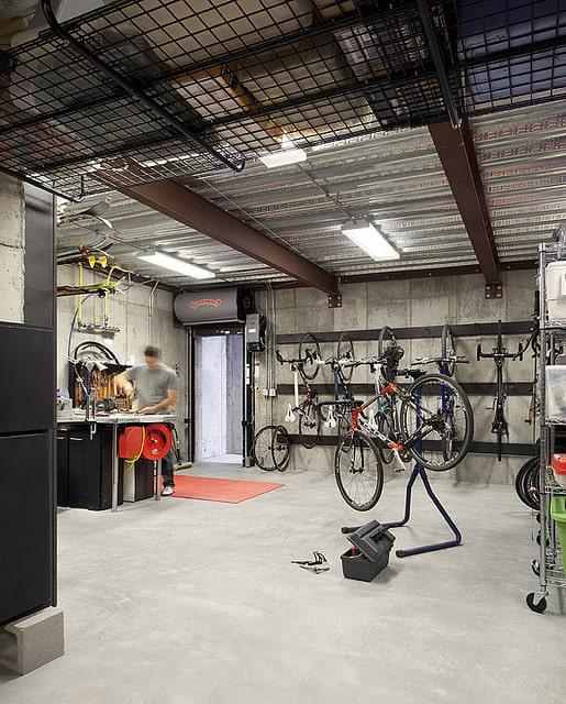 arch11 dihedral bike room
