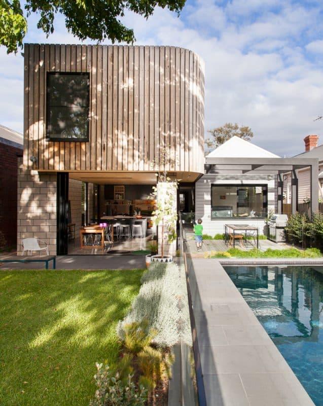 architecture archiblox prefab melbourne exterior