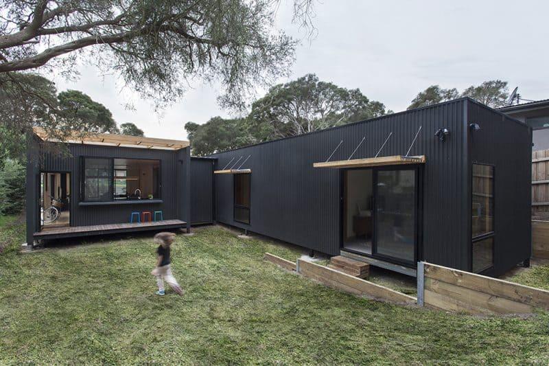 architecture archiblox sustainable prefab blairgowrie exterior