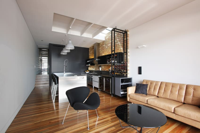 Industrial cafe vibe for Rozelle terrace