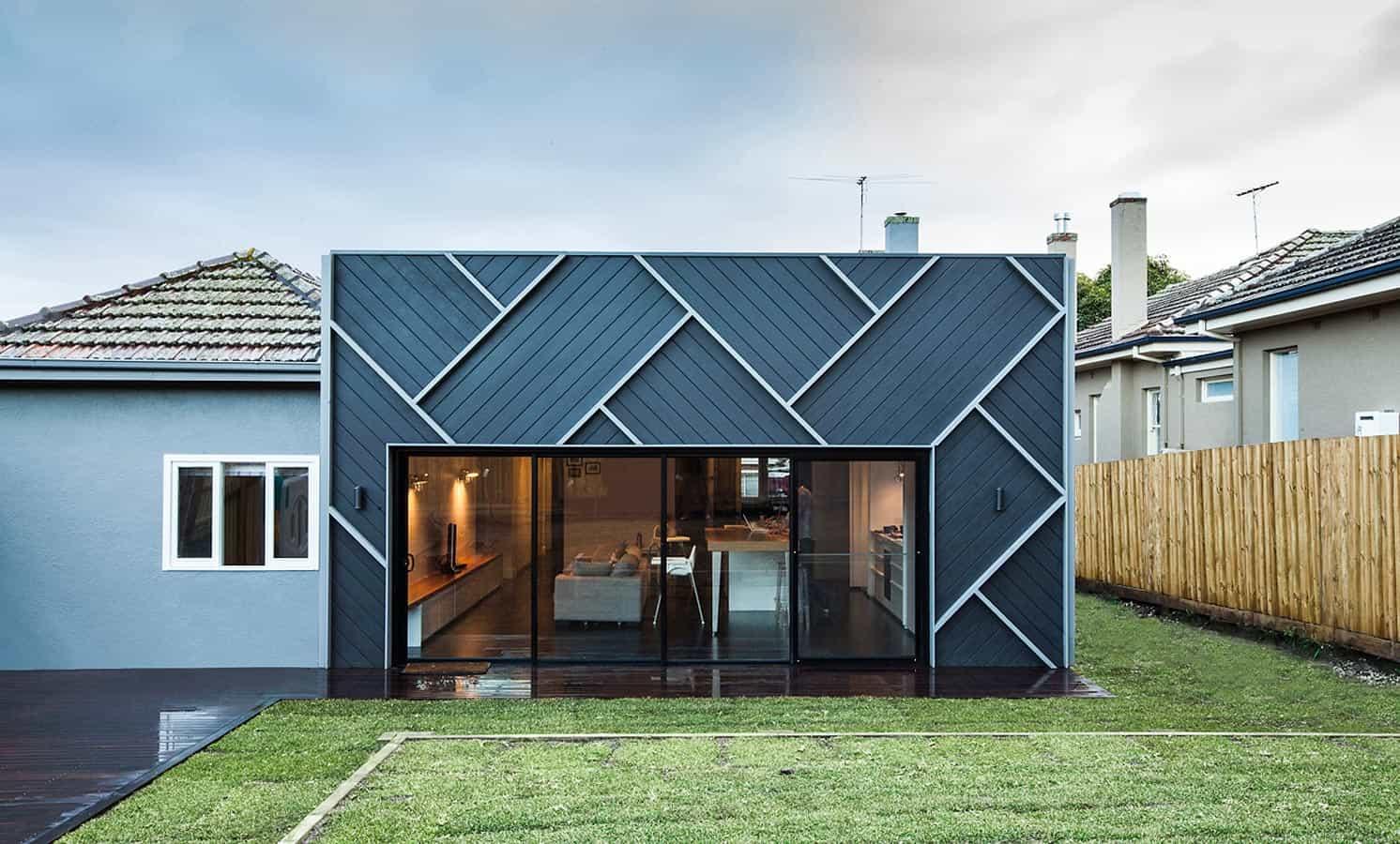 Herringbone house in Melbourne