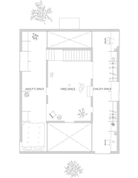 modern japanese house plan ant2