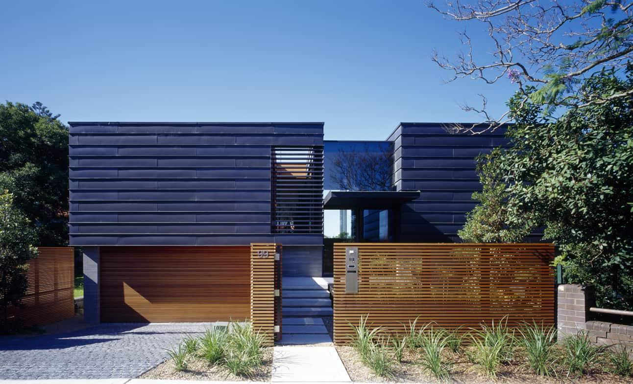 Bluestone and zinc architecture for Balmoral home