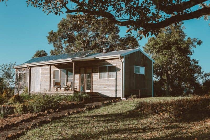 small off grid house
