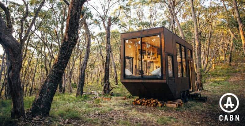 off grid tiny house cabn