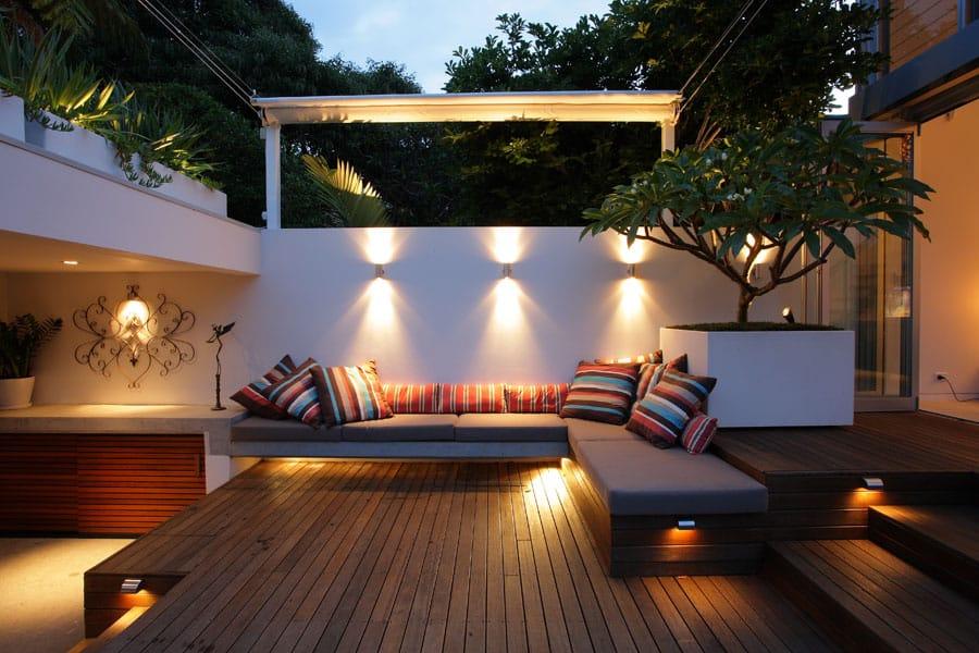 Fresh + modern inner city courtyard garden