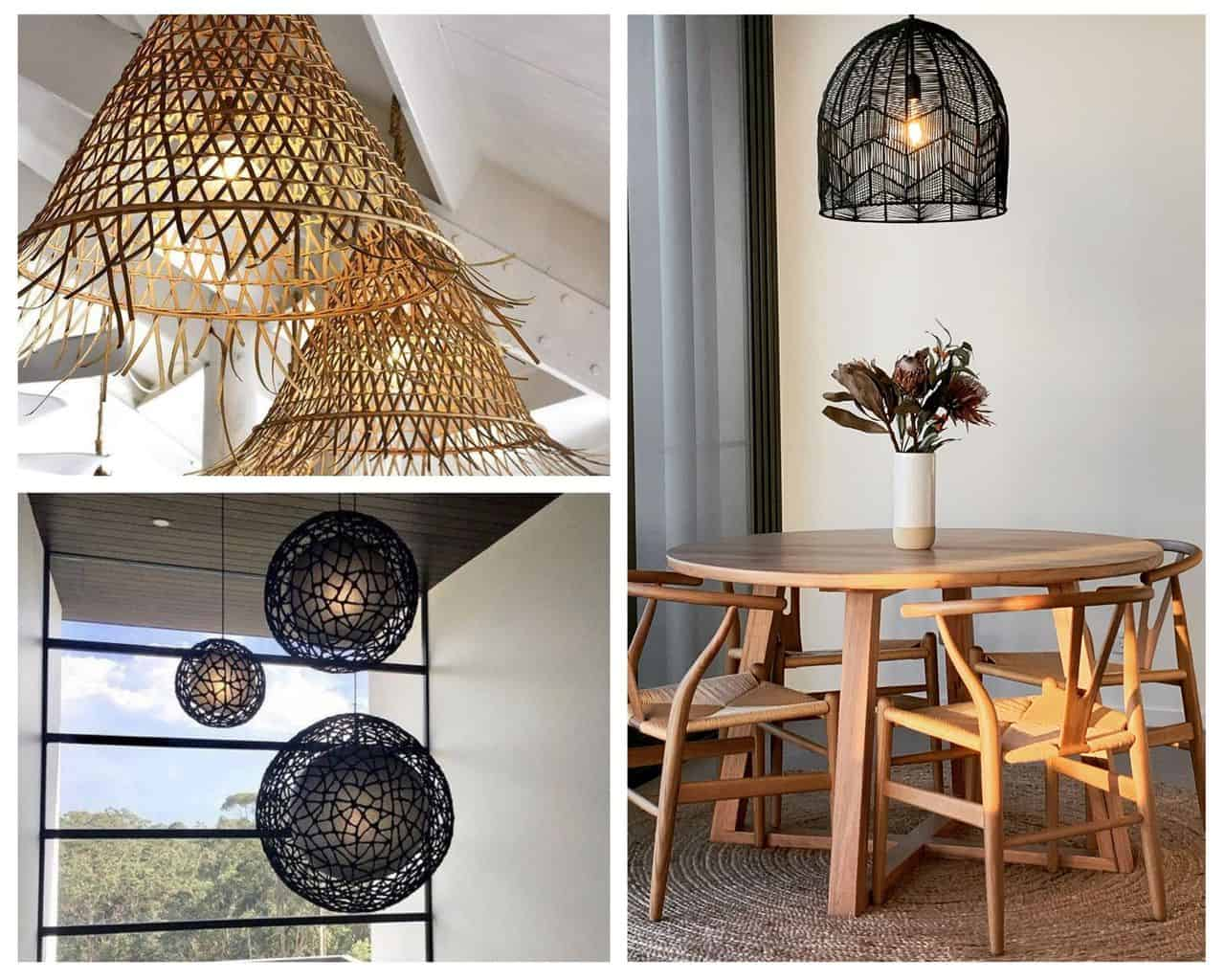 10 rattan pendant lights we can't get enough of