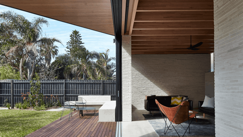 sustainable house brick walls thermal mass