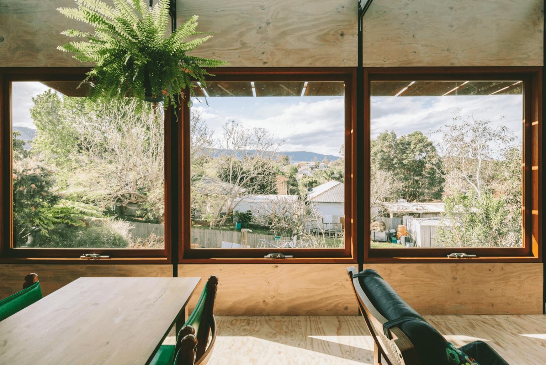 sustainable house window design takt pod house