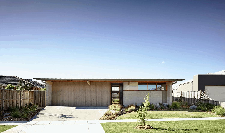sustainable small house eldridge anderson architects ballarat house