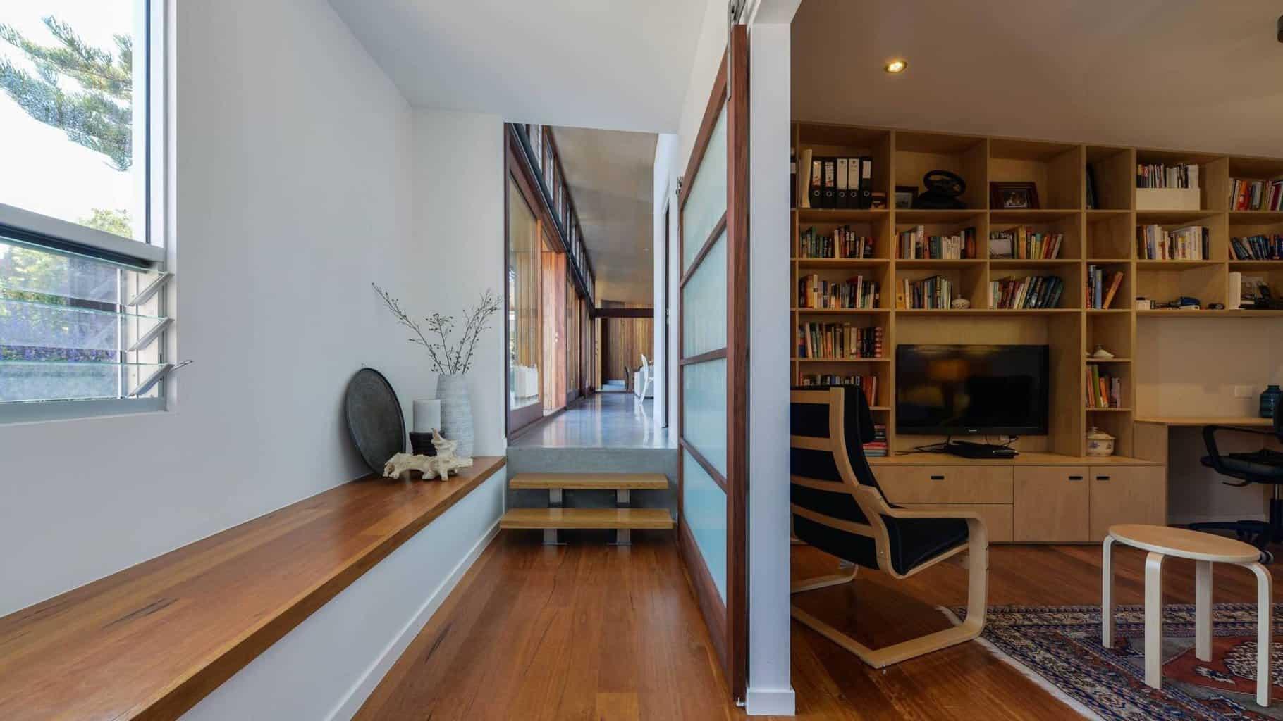 sustainable house multi purpose rooms