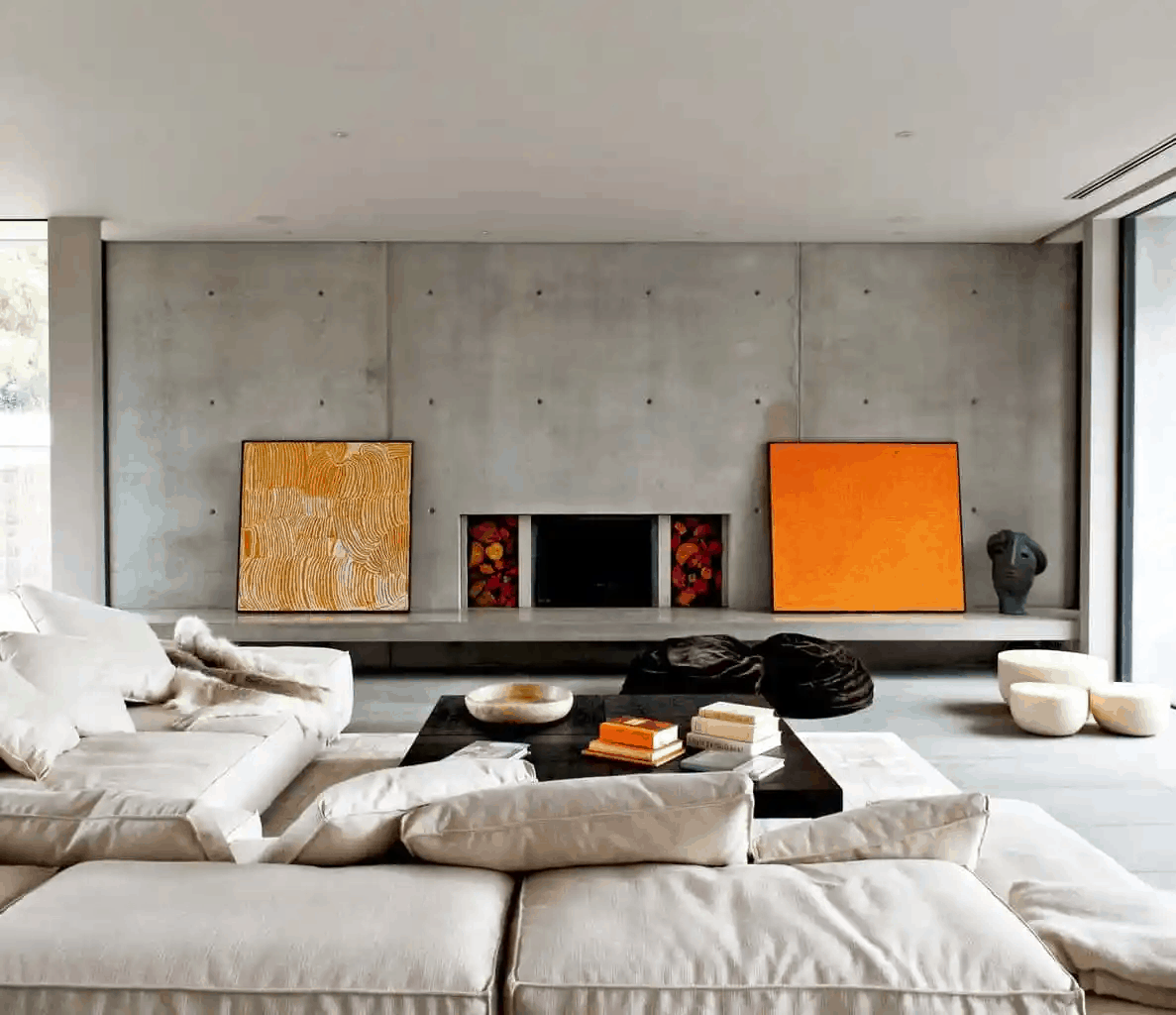 sustainable thermal mass concrete walls rob mills architecture