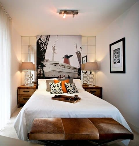 Eclectic interior design for Perth bachelor pad